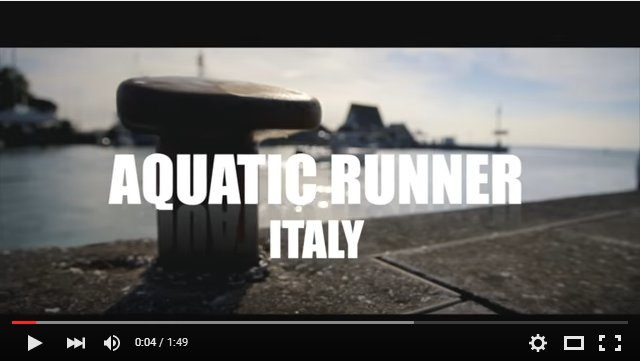 video promo aquaticrunner