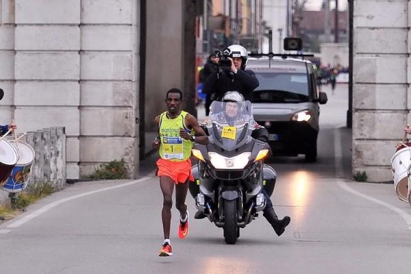 Palmanova 28 marzo 2016. Unesco Cities Marathon 2016. Passaggio a Palmanova. © Petrussi Foto Press Srl Udine www.FotoPetrussi.com