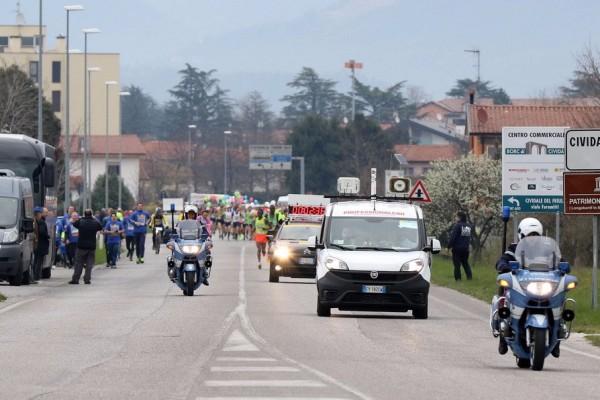 Cividale - Palmanova 28 marzo 2016. Unesco Cities Marathon 2016. Sul persorso Cividale- Palmanova. © Petrussi Foto Press Srl Udine www.FotoPetrussi.com